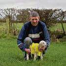 John Large at his farm in mid Tipperary.