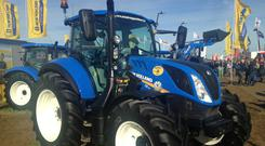 New Holland Agriculture is the tractor manufacturer which has made by far the most headway to date with biofuel designs.