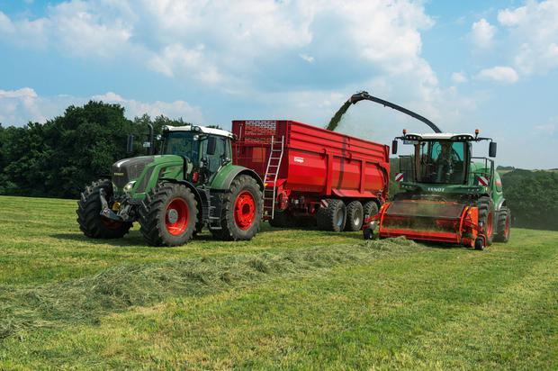 The Fendt Katana self-propelled forage harvester will be demonstrated at Gurteen