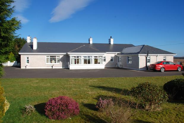 The residence on the 101ac farm at Dooleeg More near Crossmolina is in pristine condition