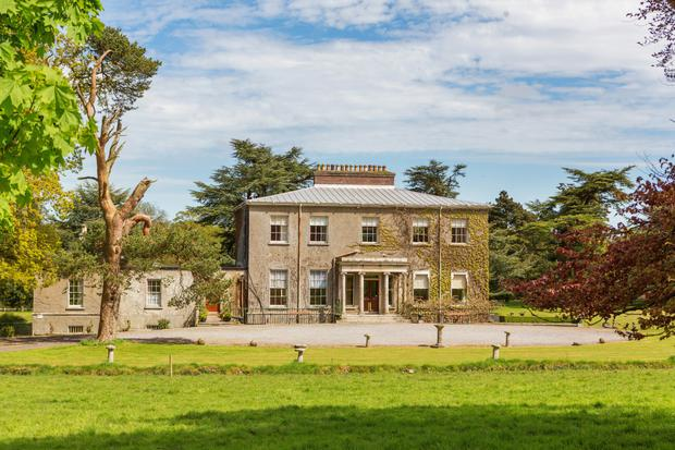 The early 19th-century house on 50ac is located eight miles from Carlow town
