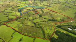 The 92ac holding is located between Bailieborough and Kingscourt