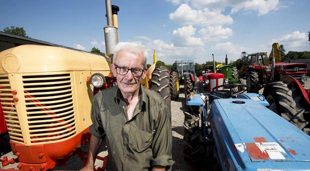 The king of vintage - Pat Egan has spent years assembling a spectacular collection of tractors