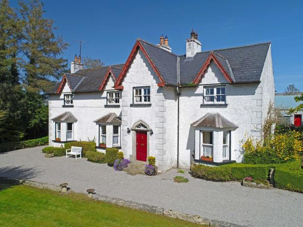 Slyguff Lodge on 65ac between Bagenalstown and Borris in Co Carlow made €1.52m at auction in May
