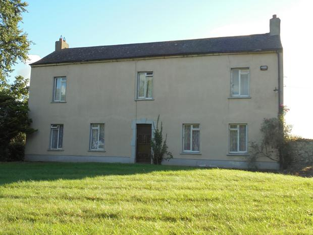 The two-storey farmhouse is in need of modernisation