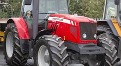 2011 Massey Ferguson 5475 4WD tractor c/w front and cab suspension and 6,100 hours on the clock