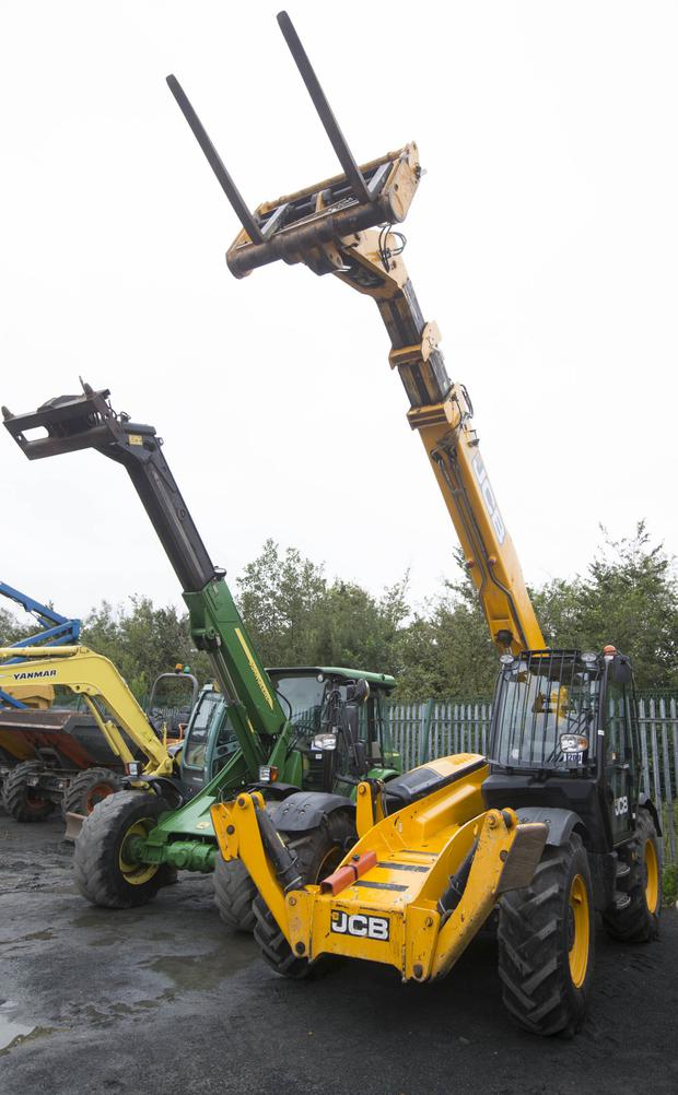 JCB 535-140 teleporter c/w jack legs and 3,600 hours on the clock