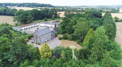 The 18th century residence on 199ac is located near Enniscorthy.