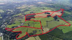 The 178ac holding is located at Kilcashel, 2km from Avoca. It could be suitable for dairy conversion while leaving ample acreage for fodder production