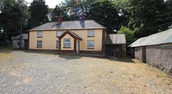 A residence and 46ac at Tunnyduff, Co Cavan was withdrawn from auction after being bid to €252,000