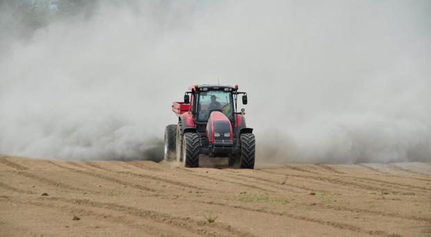 There is a shortfall of lime application