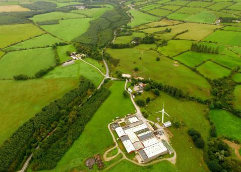 An added and valuable feature is a 250Kw wind turbine on the site supplying free electricity