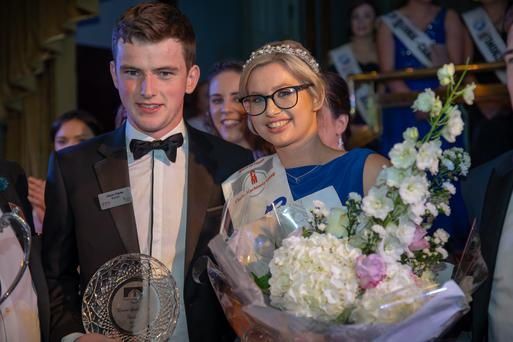 Louise Crowley of Limerick was crowned the 54th Annual Clarke Machinery Group Queen of the Land 2018 on Sunday night last.