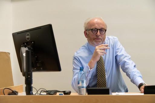 Goodbody Stockbrokers' analyst Joe Gill gave his radical vision for farming at the fourth Butter Museum Lecture in UCC