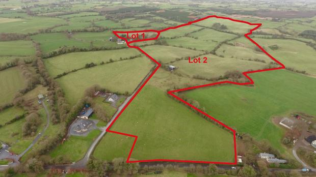 The property at Newhaggard is in three lots