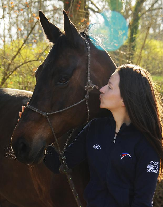 Word in your ear: 'Owners can use our method to strengthen their relationship with their horse,' says Anne de Sainte Marie