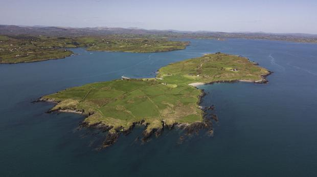 Horse Island spans 157 acres off the coast of West Cork