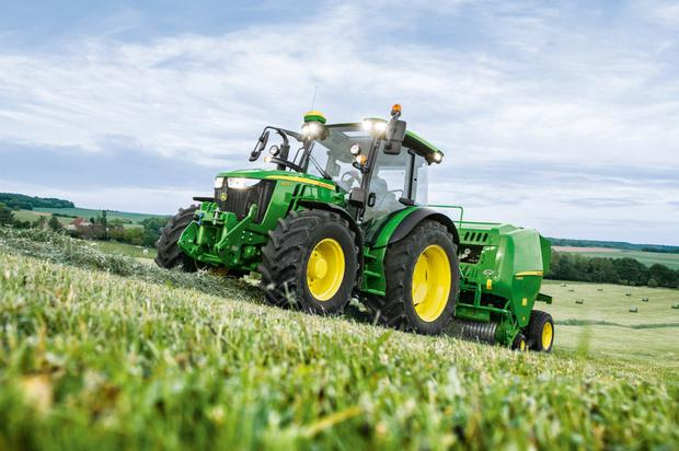The 5R Series is a good seller with Irish farmers because of its mid-size power brackets and use for loader work