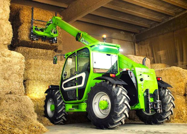 The Merlo TF35.7-115 Turbofarmer is pitched as a versatile telehandler proven in winter feeding, silage harvesting and more