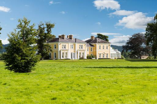 Rocketts Castle on 250ac in Waterford is typical of the estates sought by wealthy UK buyers. The private treaty sale is guided at €4.75m