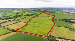 The 70ac farm at Garrycaheragh, Ballynoe needs attention but is made up of prime east Cork land
