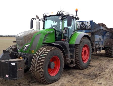 Agricultural contractors typically spend more than 50 per cent of their time on the road - equivalent to 80 per cent of their total distance travelled.