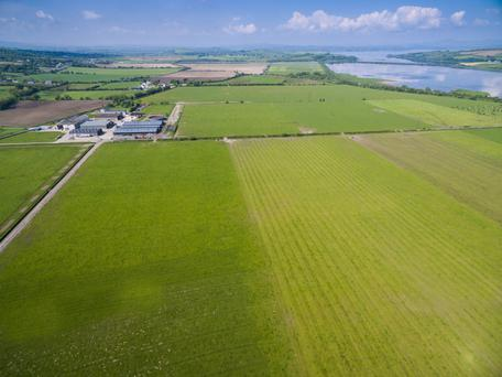 An Grianan is the largest working organic arable farm in Ireland at 2,400 acres