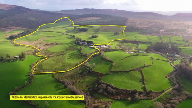 The 115ac grazing farm in West Cork comes with a wide range of outbuildings