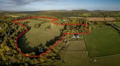 The 72ac parcel of land is located at the Kilmurry Estate near Thomastown
