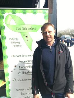 Edwin Symes: 'I have met loads of people in farming who have the disease'.