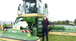 Ben Buckley, a Dublin native who got his agri. background from Cork, has joined Farmhand for the next six months to demonstrate the new BigM450 throughout the country.