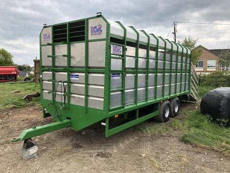 A Tuffmac 20' Cattle Trailer sold at €8,650