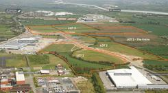 Keen interest: The holding is strategically located next to a storage/distribution and manufacturing hub