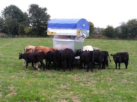 Seamus Hession of Connacht Agri won first place in the Agriculture section last year for this solar-powered cattle feeder