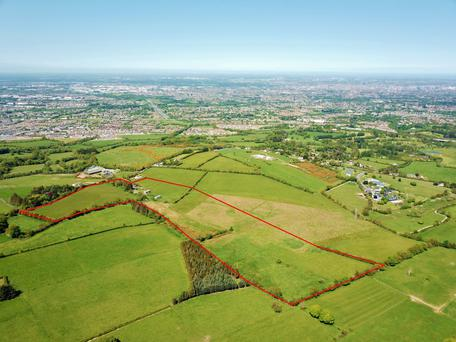 City limits: The land at Woodtown, Rathfarnham, Dublin, is laid out in up to three fields