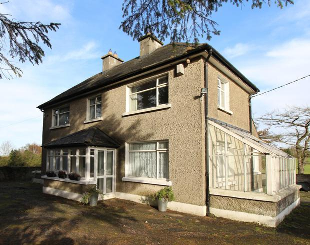 Structurally sound: The Rathfarnham residence is in need of modernisation