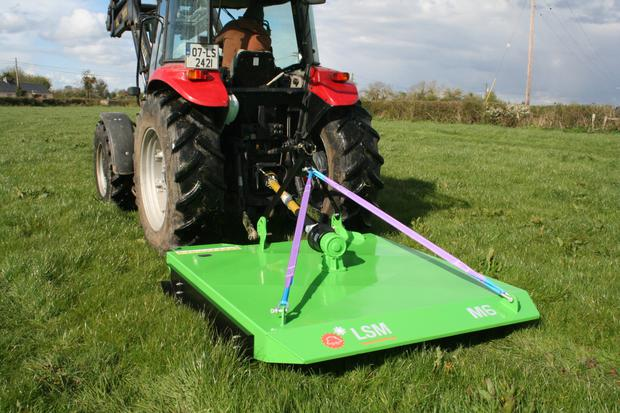 Portlaoise-based LSM Engineering design and manufacture a range of flail grass toppers.