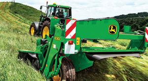 Smooth operation: Certain parts of the mower will need attention mid-season in order to keep running smoothly and knocking grass ahead of the harvester or baler