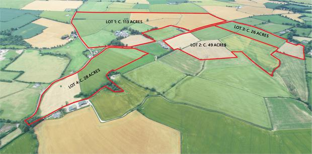 Spic and span: The 216ac farm is located near Bunclody and was worked to a very high standard by its former owner who was farming until he was 90