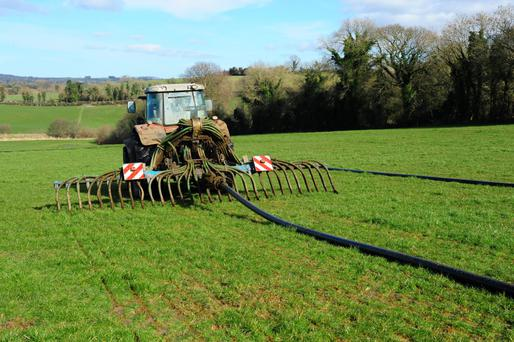 Proposal: The measures would see low-emission slurry spreading (LESS) equipment used for any spreading after June 15