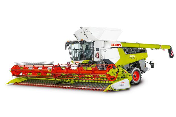 Harvest time: A detailed view of the new flagship 790hp Claas Lexion Synflow 8900