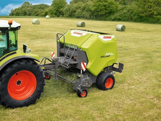 Claas recently launched the new Rollant 520 fixed-chamber round baler as the new entry model in the 1.25m segment.