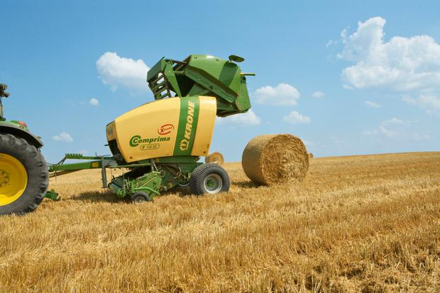 Krone's range of Comprima X-treme round balers have proven popular with Irish contractors.