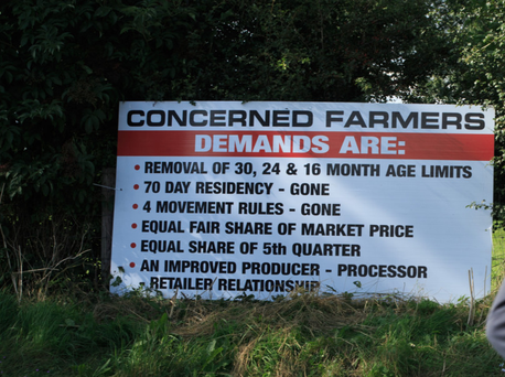 Demands: The processors have conceded ground on age limits and bonus but have dug in on base prices