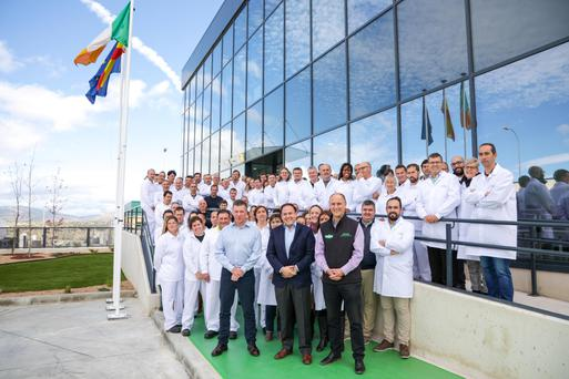 Branching out: Ornua employees at the opening of a new plant in Avila, Spain