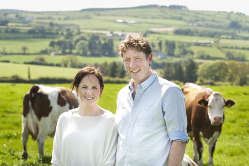 Innovative thinking: Tom and Norma Dineen are producing their own cheese on their east Cork farm