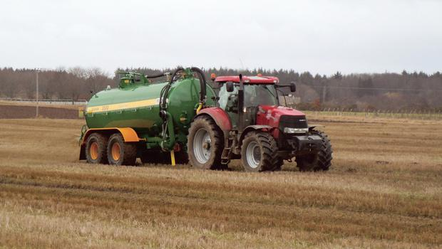 A well-kept six-cylinder tractor may be useful for heavier jobs like slurry spreading