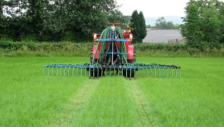 Time is of the essence: Slurry is another important element when preparing for the silage season, and Kevin McMenamin says it's important farmers get it on early