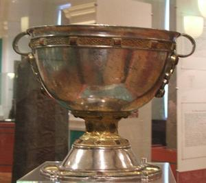 The chalice found at Derrynaflan