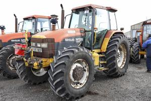 A 1997-registered New Holland TM135 4WD Tractor with 6,811 hours